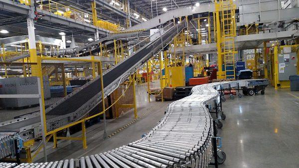 Warehouse Conveyor Installation Sacramento